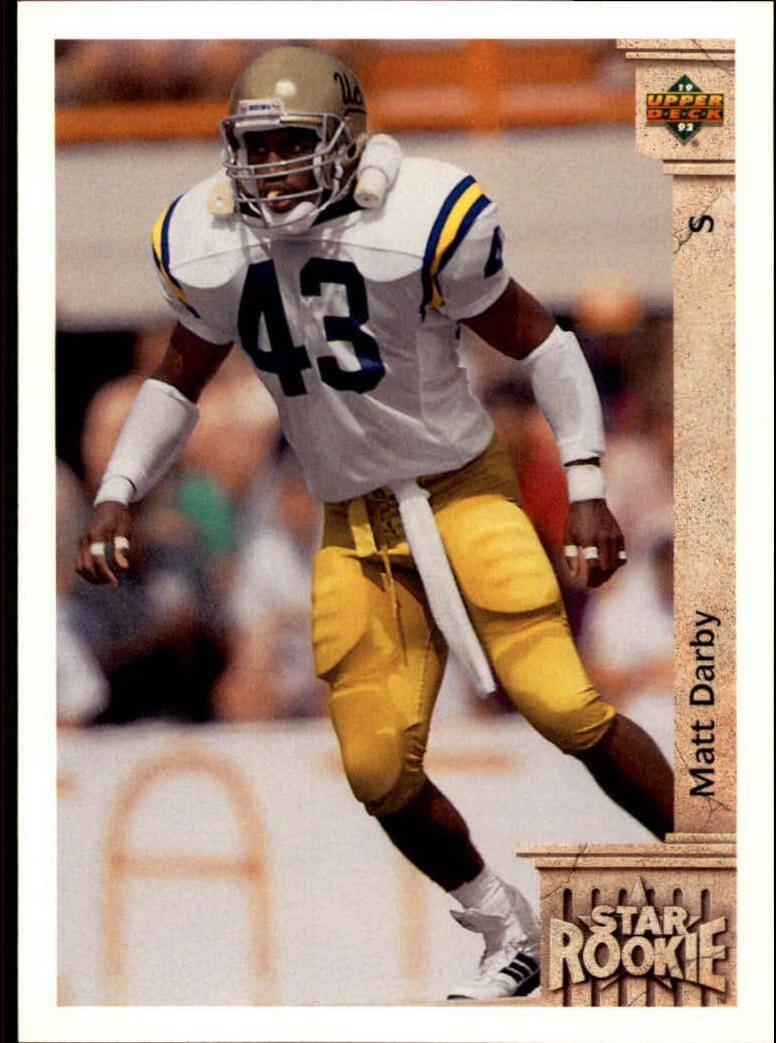 1992 Upper Deck #9 Matt Darby RC