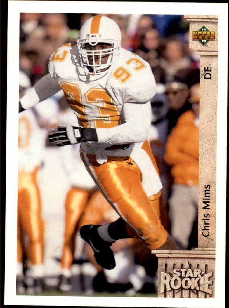 1992 Upper Deck #16 Chris Mims RC