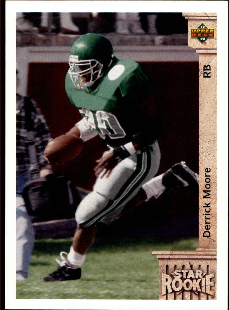 1992 Upper Deck #17 Derrick Moore RC