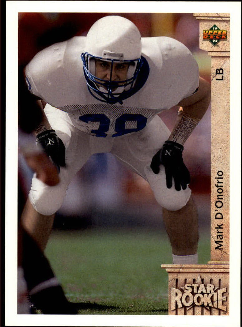 1992 Upper Deck #18 Mark D'Onofrio RC