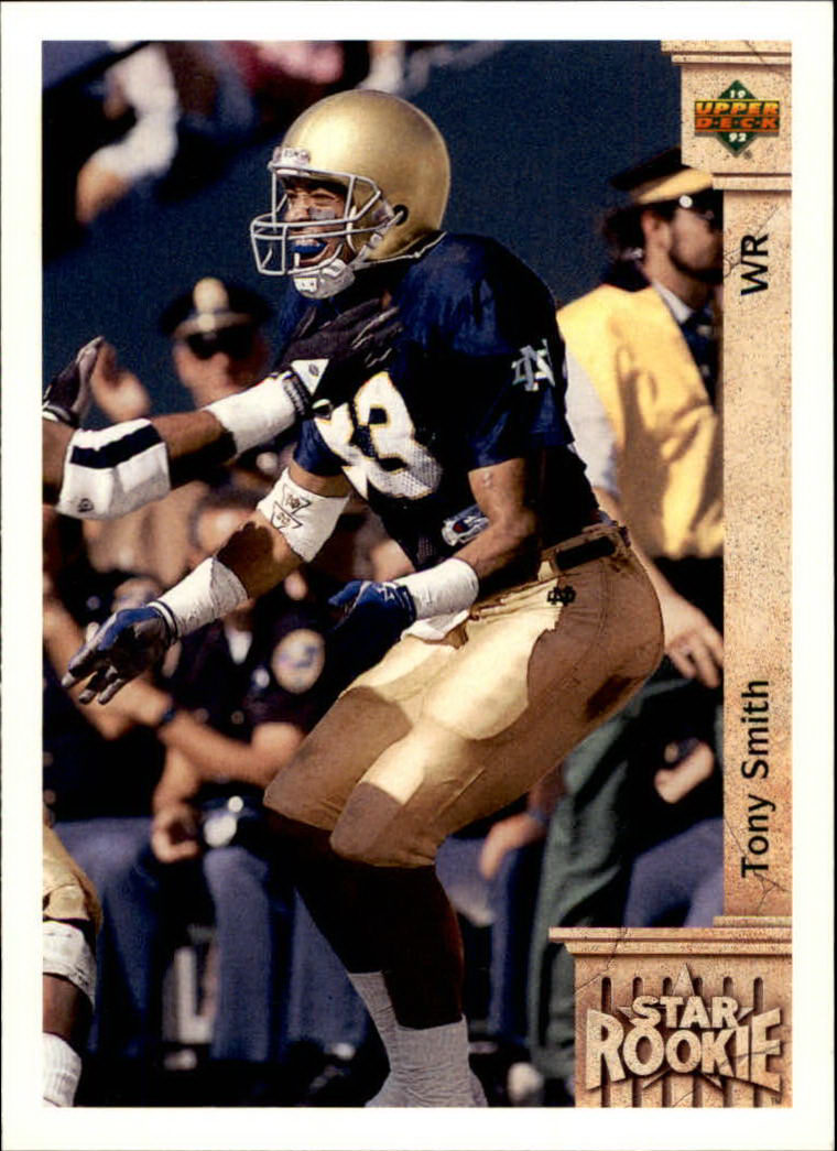 1992 Upper Deck #23 Tony Smith WR RC