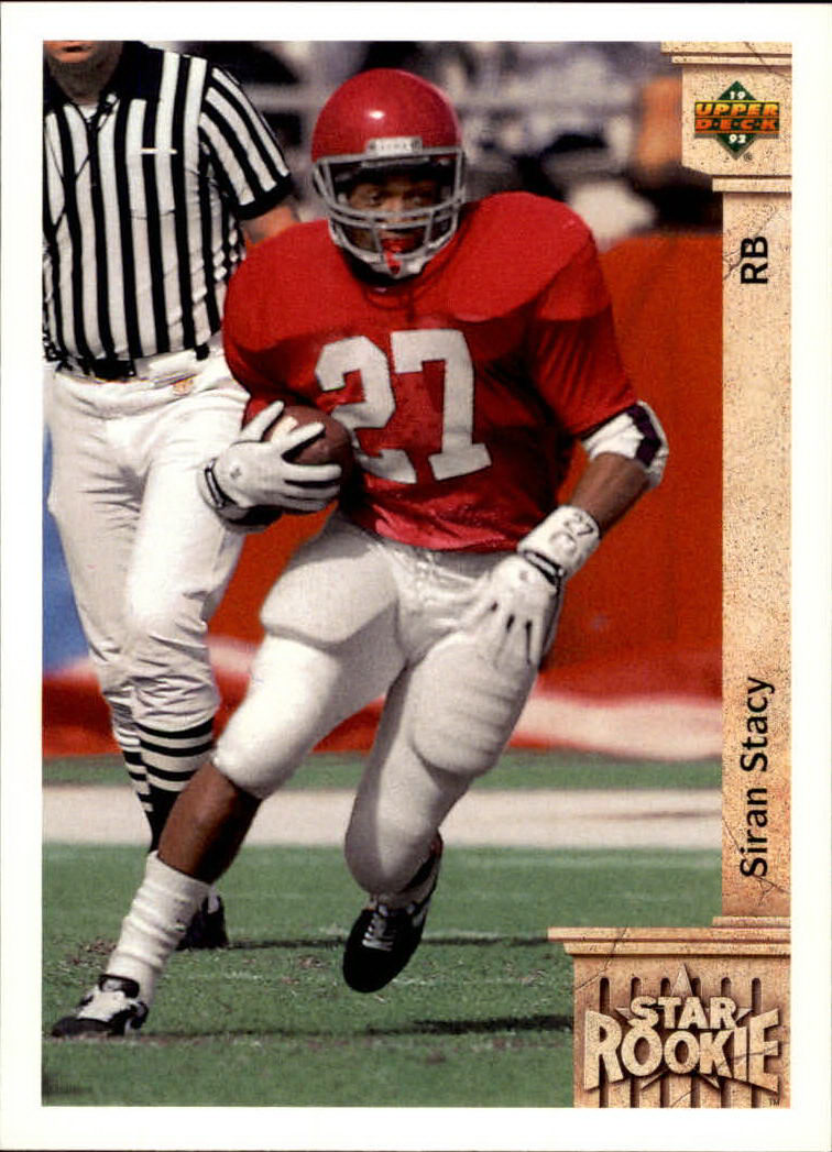 1992 Upper Deck #24 Siran Stacy RC