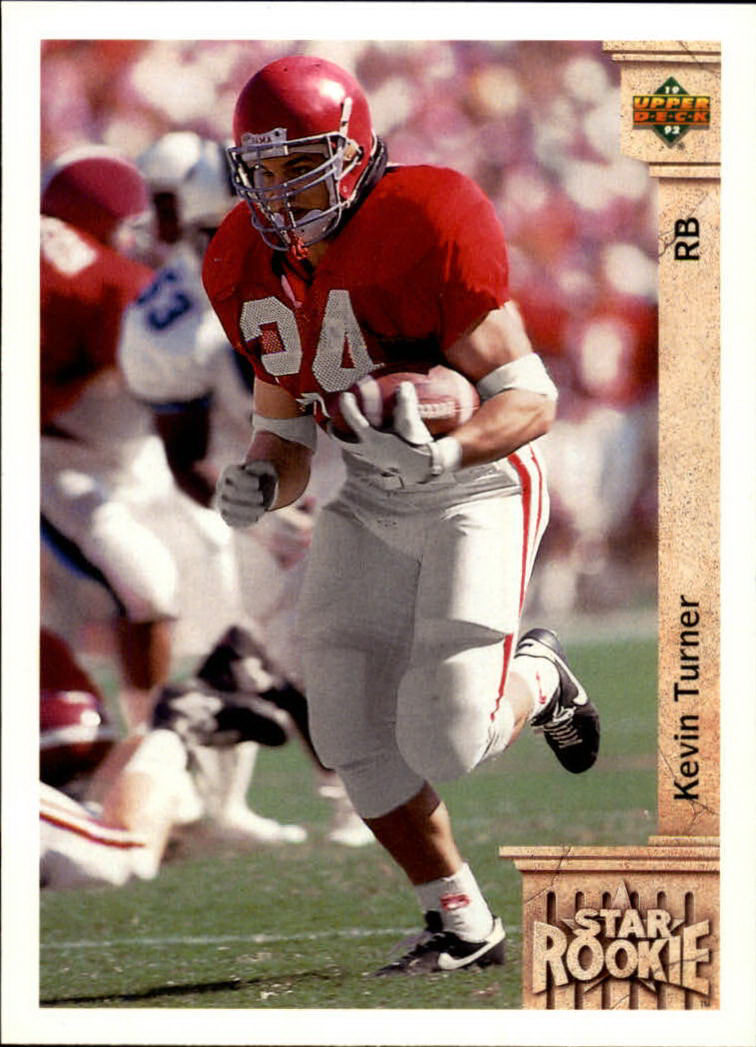 1992 Upper Deck #25 Kevin Turner RC