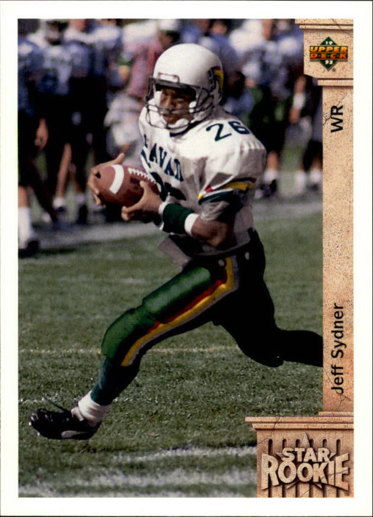 1992 Upper Deck #29 Jeff Sydner RC