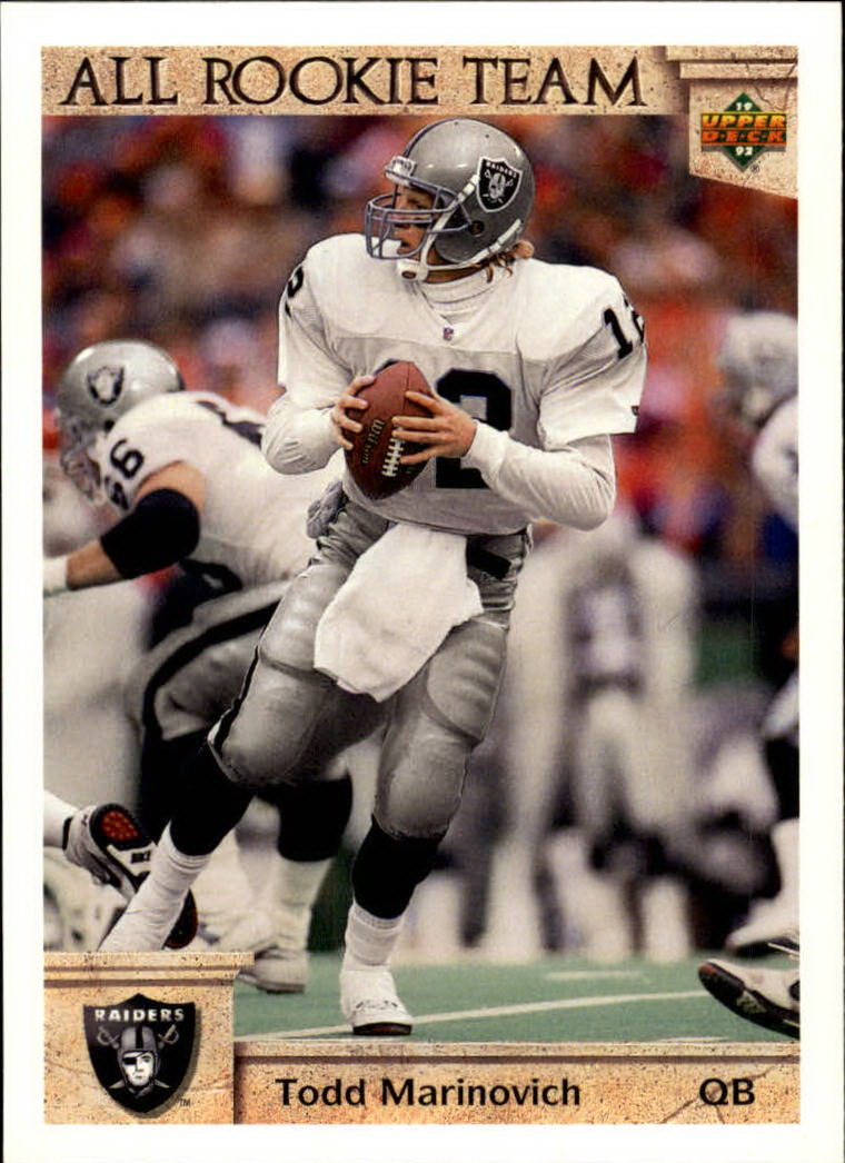 1992 Upper Deck #31 Todd Marinovich ART