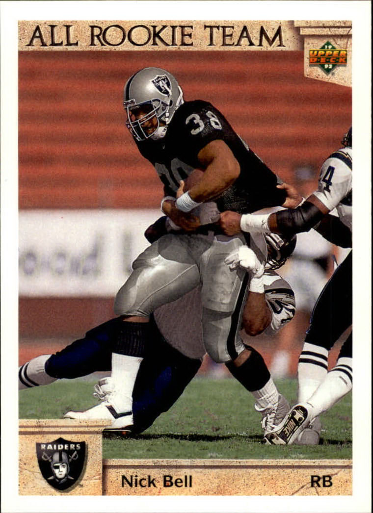 1992 Upper Deck #33 Nick Bell ART