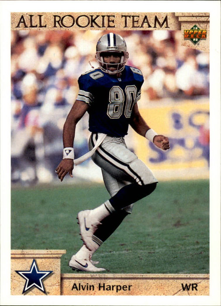 1992 Upper Deck #34 Alvin Harper ART