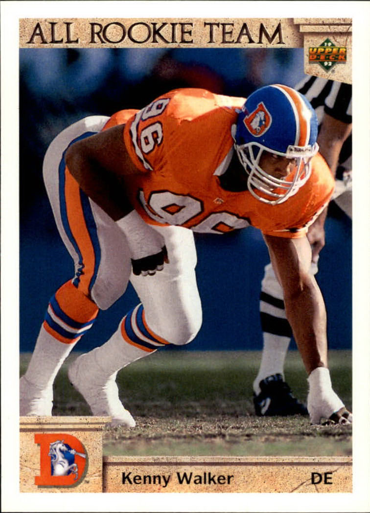 1992 Upper Deck #44 Kenny Walker AR