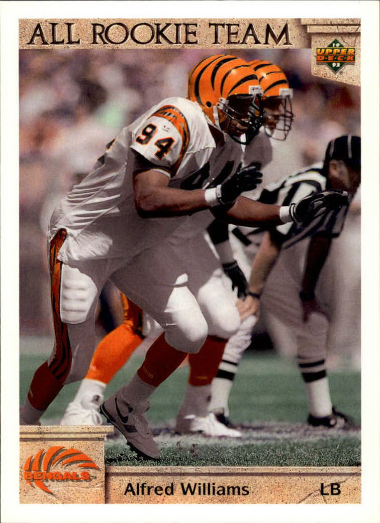 1992 Upper Deck #46 Alfred Williams AR