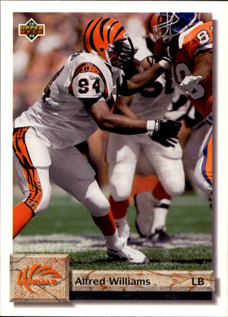 1992 Upper Deck #60 Alfred Williams