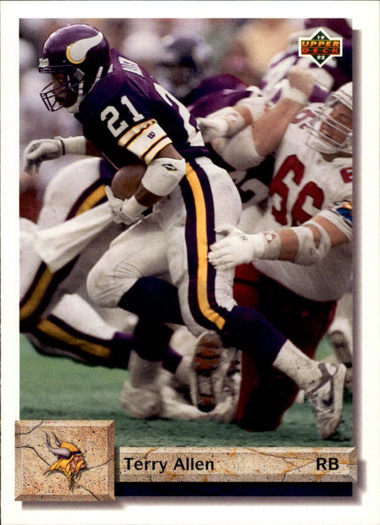 1992 Upper Deck #63 Terry Allen