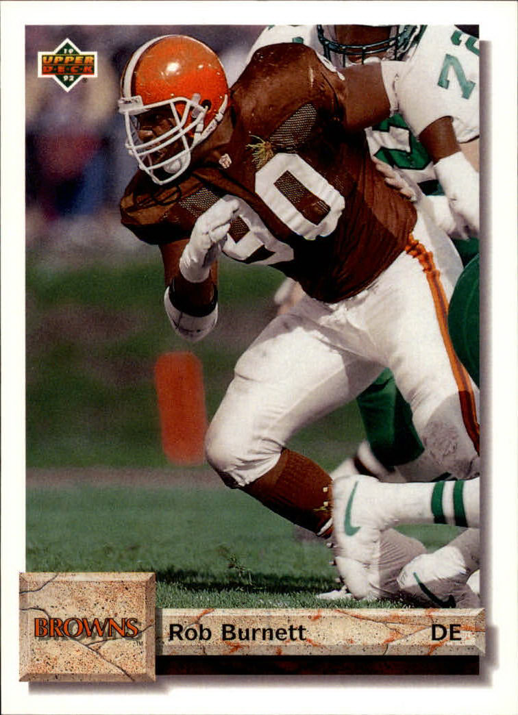 1992 Upper Deck #66 Rob Burnett