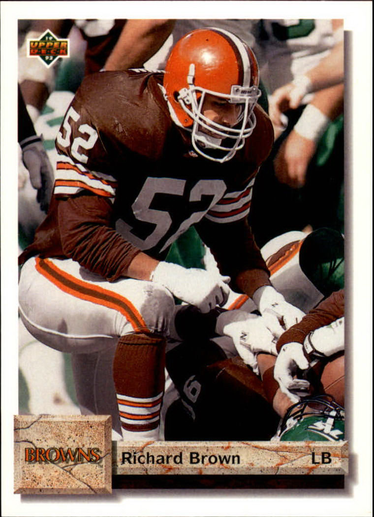 1992 Upper Deck #70 Richard Brown RC