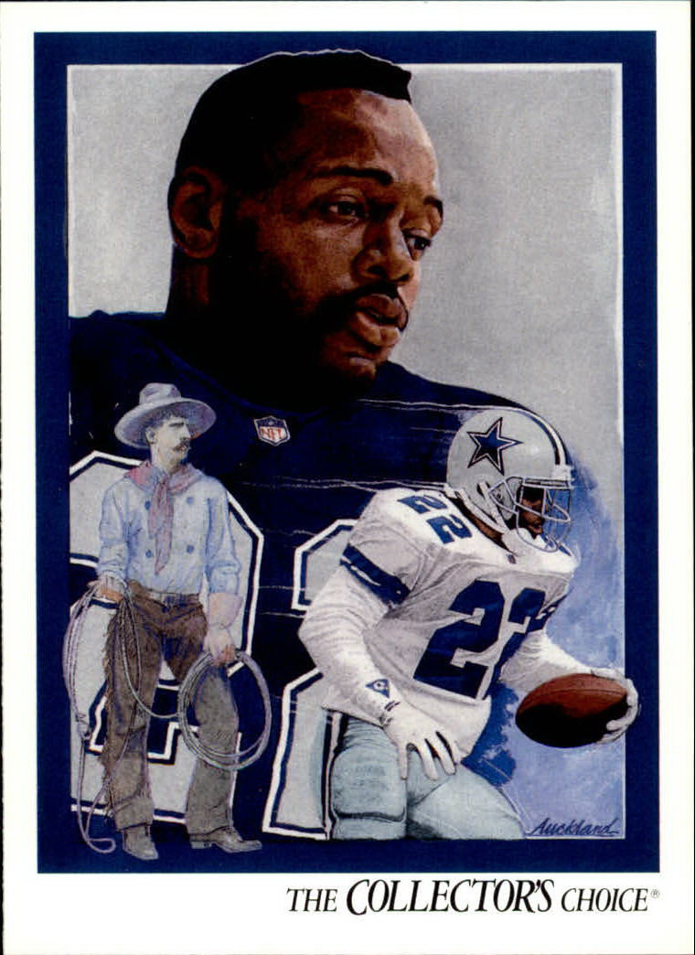 1992 Upper Deck #83 Emmitt Smith TC