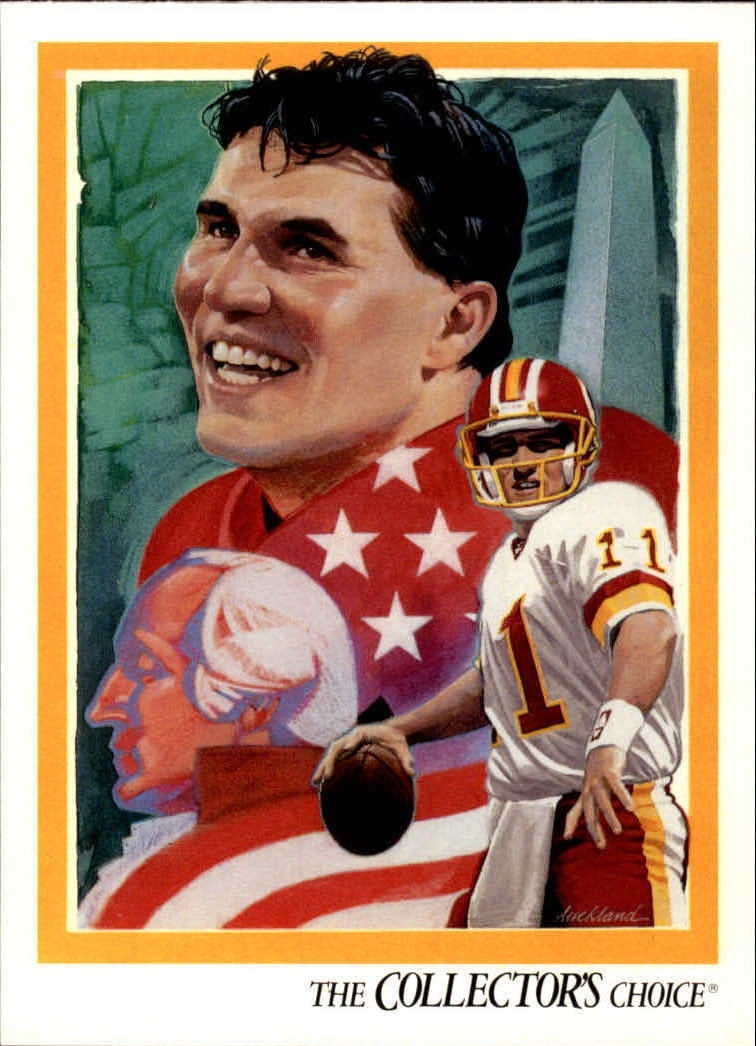 1992 Upper Deck #96 Mark Rypien TC
