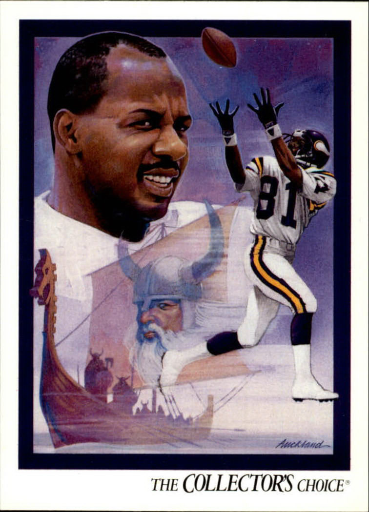 1992 Upper Deck #100 Anthony Carter TC