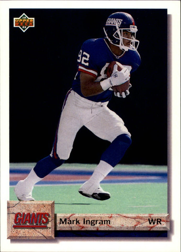 1992 Upper Deck #108 Mark Ingram