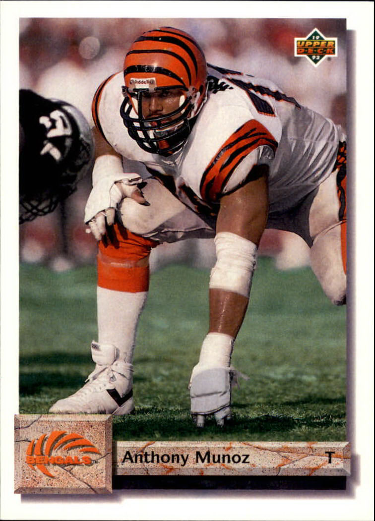 1992 Upper Deck #109 Anthony Munoz