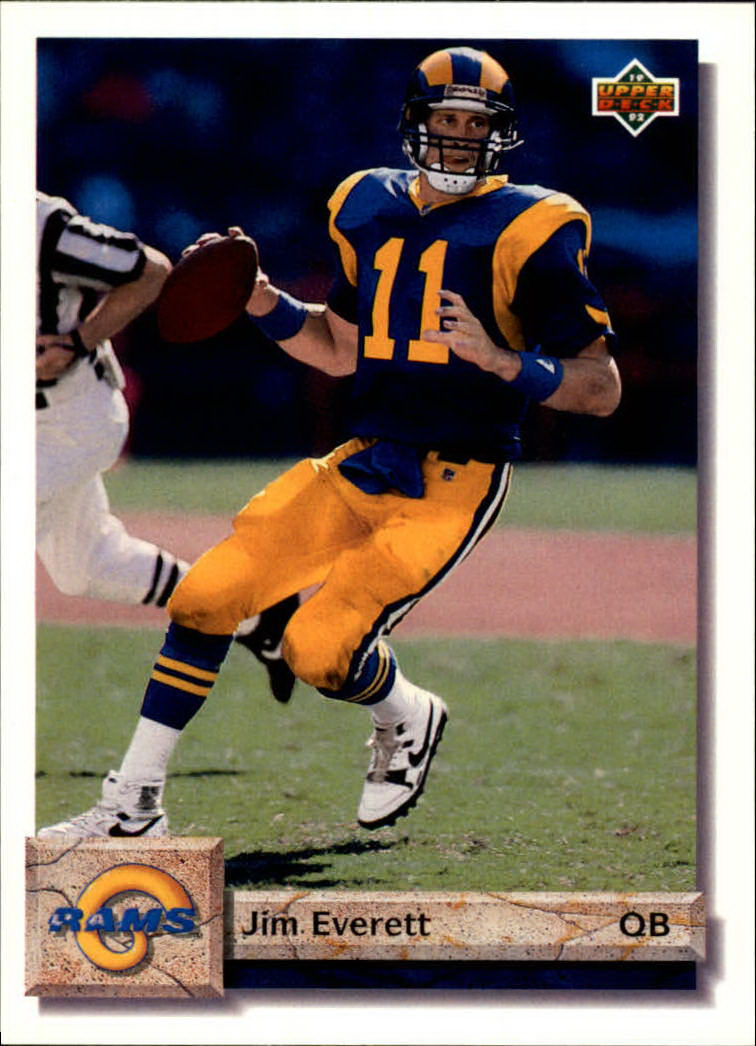 1992 Upper Deck #111 Jim Everett
