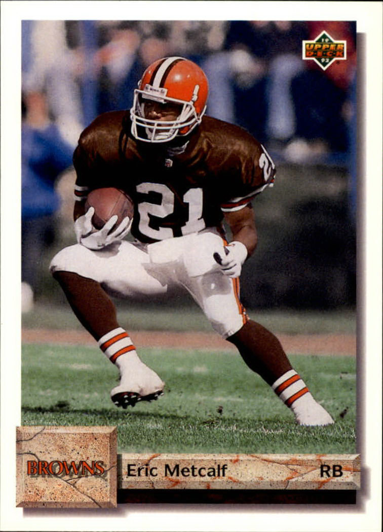 1992 Upper Deck #162 Eric Metcalf