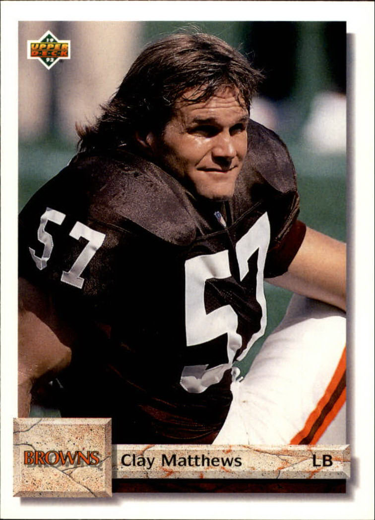 1992 Upper Deck #215 Clay Matthews