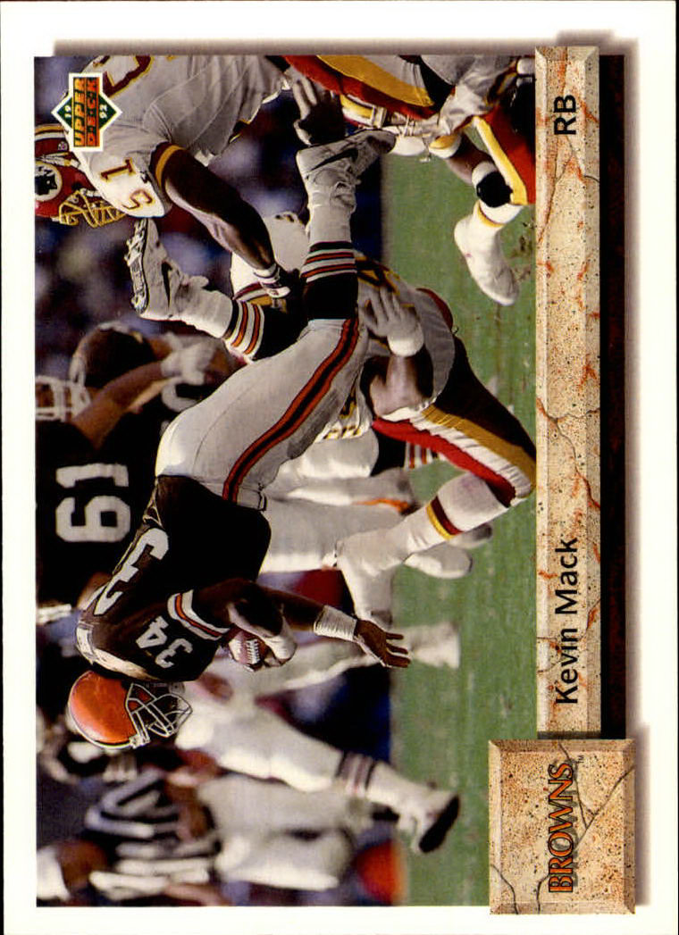1992 Upper Deck #251 Kevin Mack