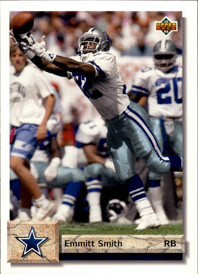 1992 Upper Deck #254 Emmitt Smith