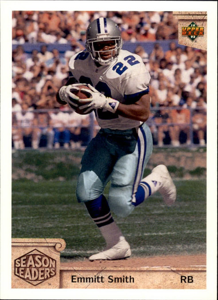 1992 Upper Deck #301 Emmitt Smith SL
