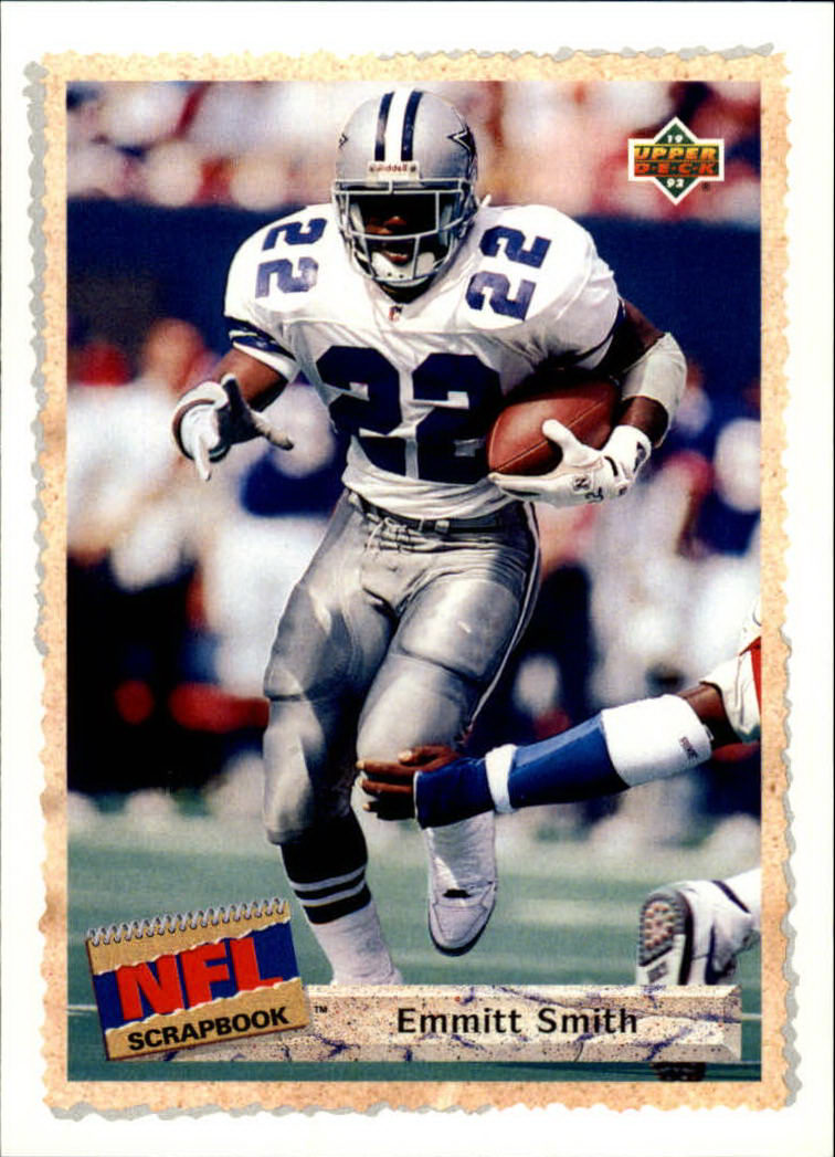 1992 Upper Deck #516 Emmitt Smith SBK