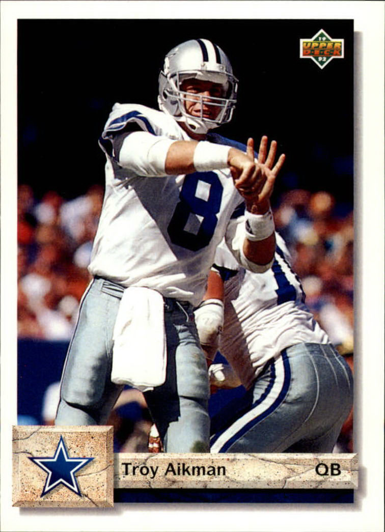 1992 Upper Deck #597 Troy Aikman
