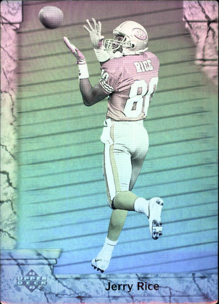 1992 Upper Deck Game Breaker Holograms #GB6 Jerry Rice