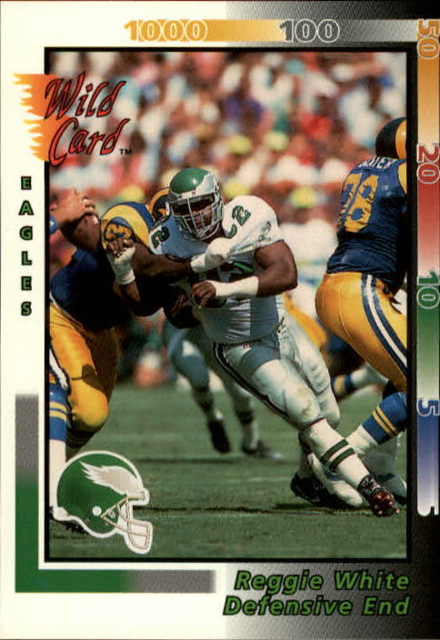 1992 Wild Card #10 Reggie White
