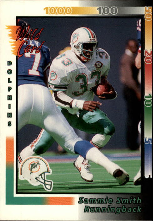 1992 Wild Card #18 Sammie Smith