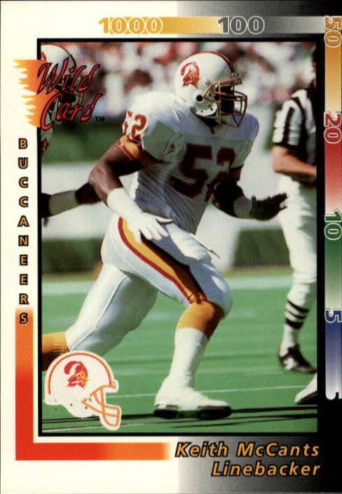 1992 Wild Card #45 Keith McCants