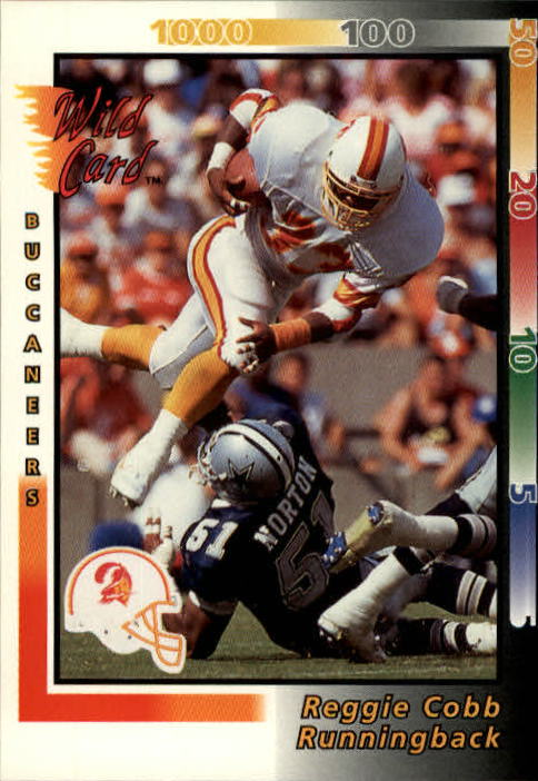 1992 Wild Card #46 Reggie Cobb