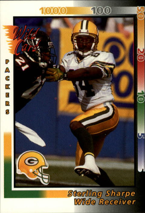 1992 Wild Card #52 Sterling Sharpe