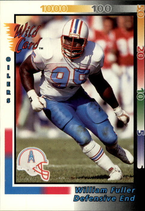 1992 Wild Card #89 William Fuller