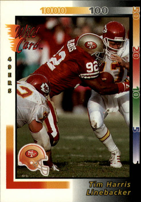 1992 Wild Card #100 Tim Harris