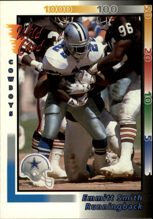 1992 Wild Card #161 Emmitt Smith