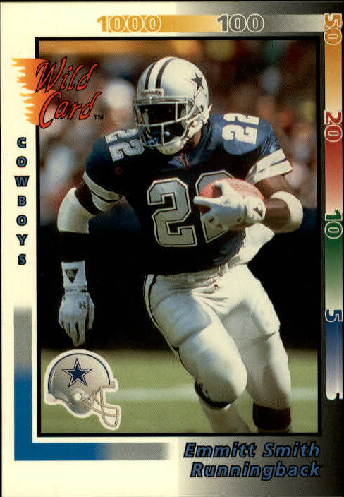 1992 Wild Card #273 Emmitt Smith