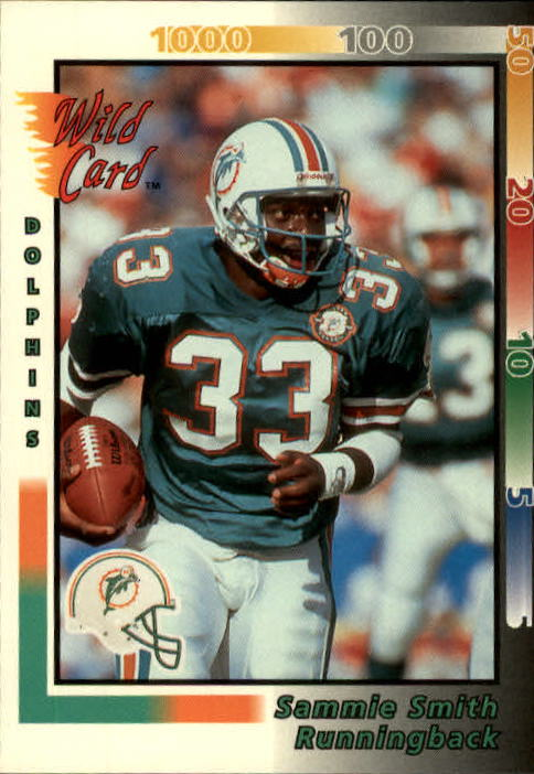 1992 Wild Card #379 Sammie Smith
