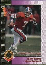 1992 Wild Card Field Force Gold #5 John Elway