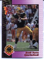 1992 Wild Card Field Force Gold #14 Brett Favre