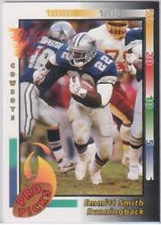 1992 Wild Card Pro Picks #1 Emmitt Smith