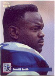 1992-93 Power Emmitt Smith #1 Emmitt Smith