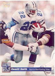 1992-93 Power Emmitt Smith #7 Emmitt Smith