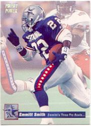 1992-93 Power Emmitt Smith #8 Emmitt Smith