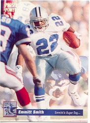 1992-93 Power Emmitt Smith #9 Emmitt Smith