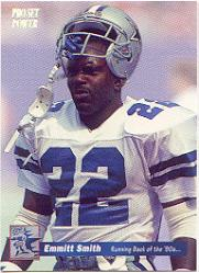1992-93 Power Emmitt Smith #10 Emmitt Smith