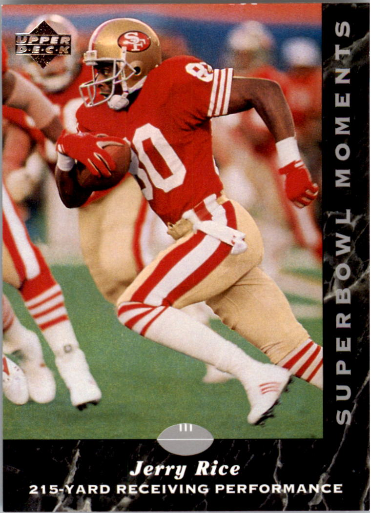 1992-93 Upper Deck NFL Experience #8 Jerry Rice